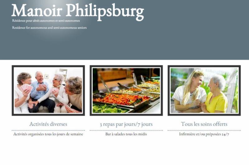 Manoir Philipsburg , Résidence pour aînés autonomes et semi-autonomes à Philipsburg