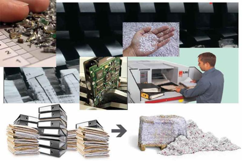 Multishred fournit une technologie de pointe de déchiquetage de pointe pour le document et IT déchiquetage des médias.
