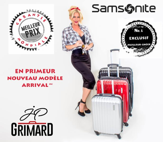 Valises JP Grimard inc - JP Grimard Luggage Manufacturer Inc ...
