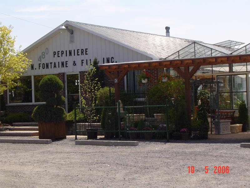 P pini re fontaine fils inc rougemont qc 480 rue for Pepiniere