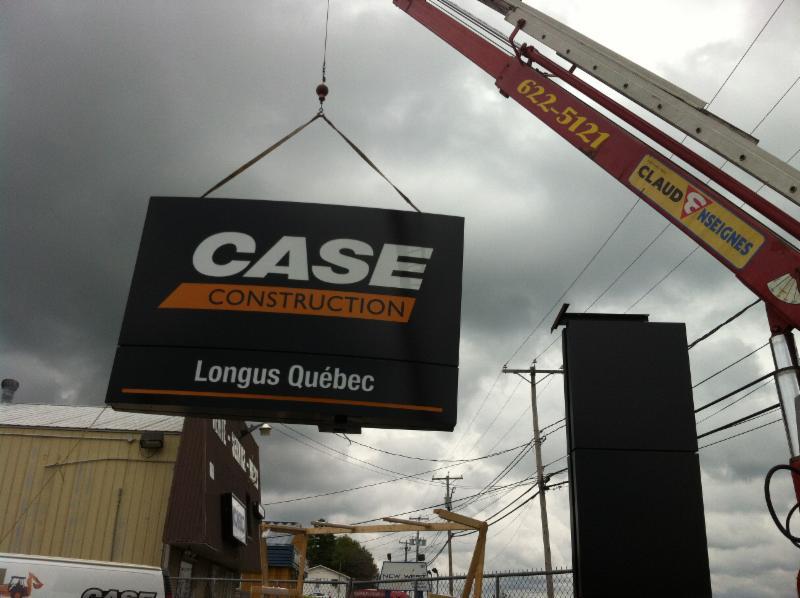 Claude enseignes clairage ext rieur opening hours for Eclairage enseigne exterieur