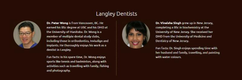 Dr. Peter Wong     Dr. Vineisha Singh