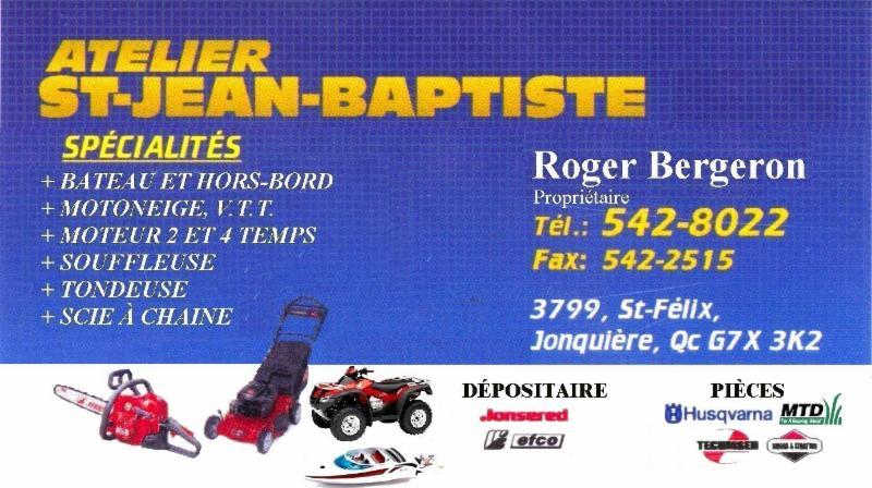 Atelier st jean baptiste 2000 jonqui re qc 3799 rue for Atelier st jean chaise bercante