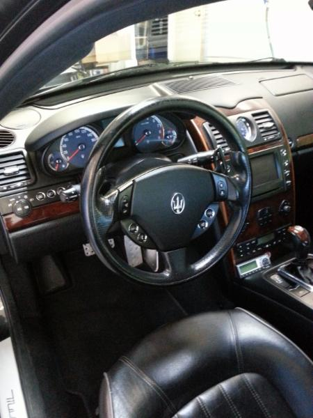 Interior detailed and clean from the rugs up to the windows!