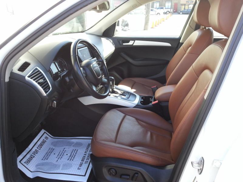 Tan leather, rug shampoo for a Luxury SUV