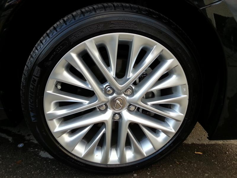 Alloy rim cleaned and looking like new!