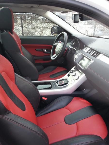 Luxury SUV Interior Detail
