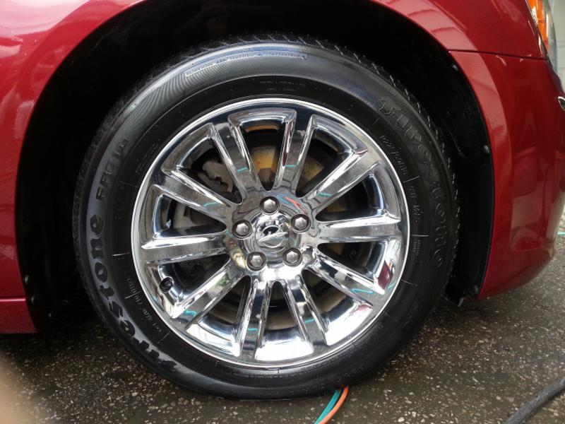Chrome Rim Restore and Shine