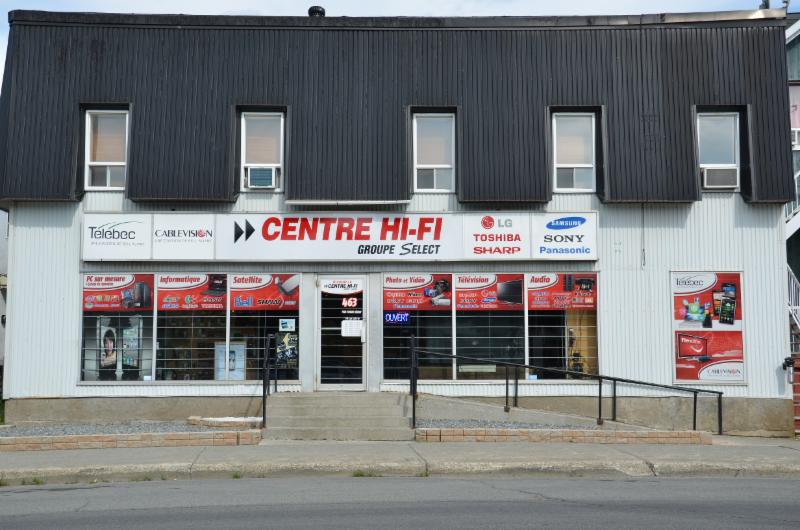 Centre hi fi groupe s lect horaire d 39 ouverture 463 for Meuble branchaud rouyn noranda