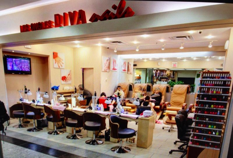Les ongles diva nails horaire d 39 ouverture 705 rue ste - Salon ongles montreal ...