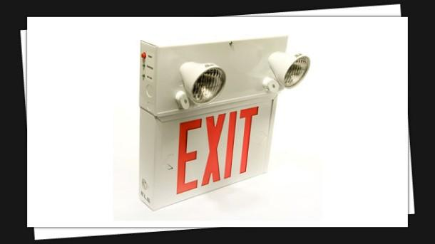 Exit Sign & Emergency Lighting