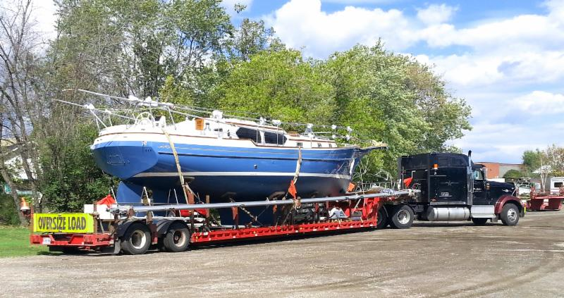 Power and Sail Boat Transportation through Ontario and into Eastern Canada as well as USA. We are Canada and US Bonded Custom carriers. We transport from 25 feet up to 60 foot boats. Ask us about yours. Call 905-683-5917