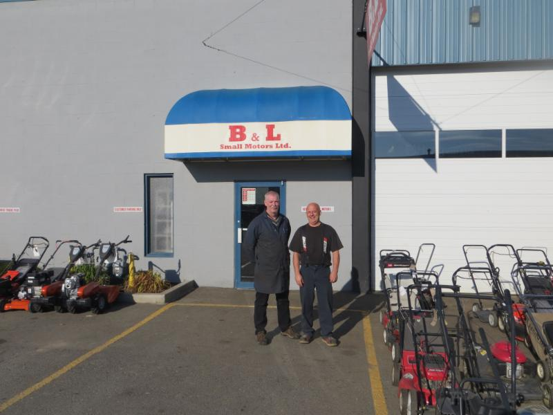 Serving Kamloops for over 25 years. Current owner Brad Campbell on left. Previous owner Brent Carter on right.