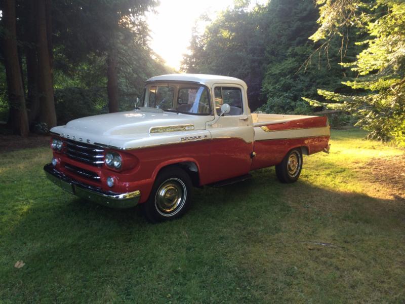 1958 Dodge D-100     show quality restoration