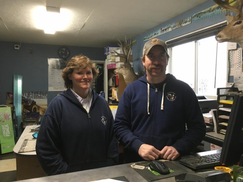 Bighorn Spring & Brake Derek & Rene at the front counter
