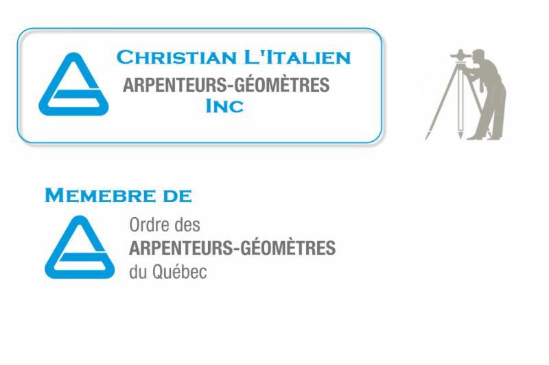Christian L'Italien Arpenteur-Géomètre à Sainte-Anne-des-Monts desservant Matane, Gaspé et les environs