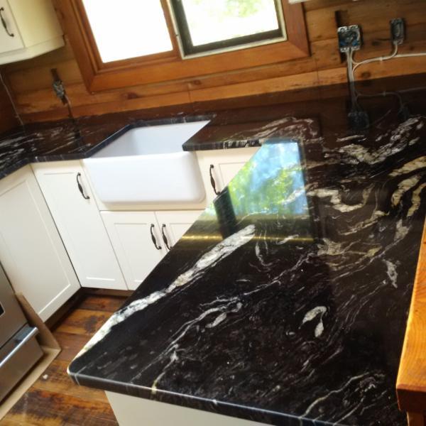 White Kitchen Cabinets Yellow Granite: Northern Marble & Granite