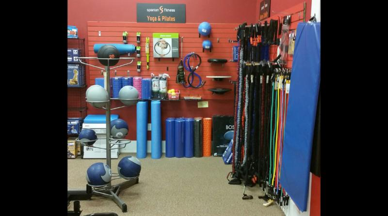 Every Spartan Fitness offers rehabilitation fitness equipment, yoga, pilates and fitness accessories.