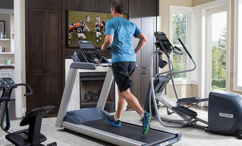 We offer a wide brand selection with the features you want in an elliptical and treadmill. Don't forget to bring your gym shoes!