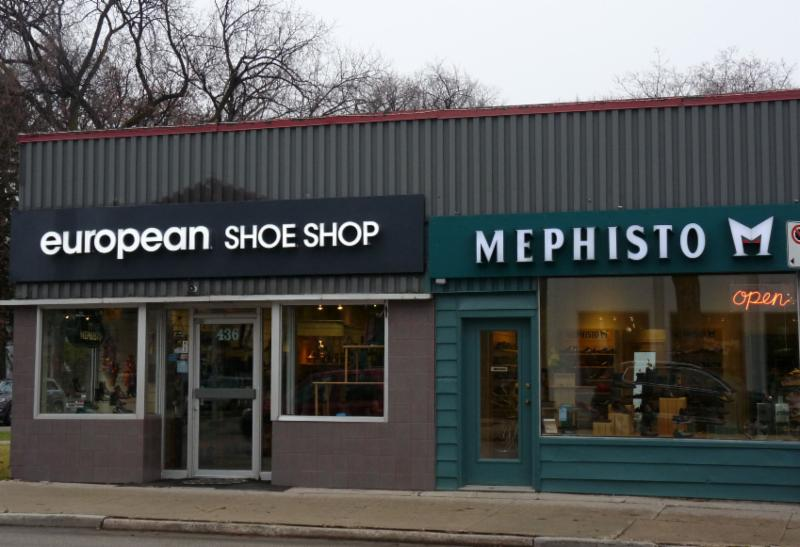 European Shoe Store On Academy