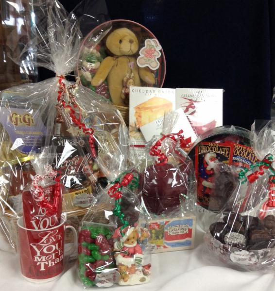 Choose from a wide assortment of ready made gift baskets, or let us help you design your own.