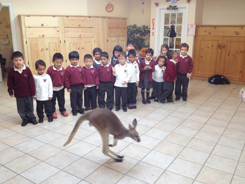 Our new student!