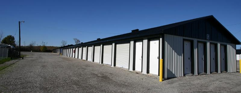 Self Storage Units of Various Sizes