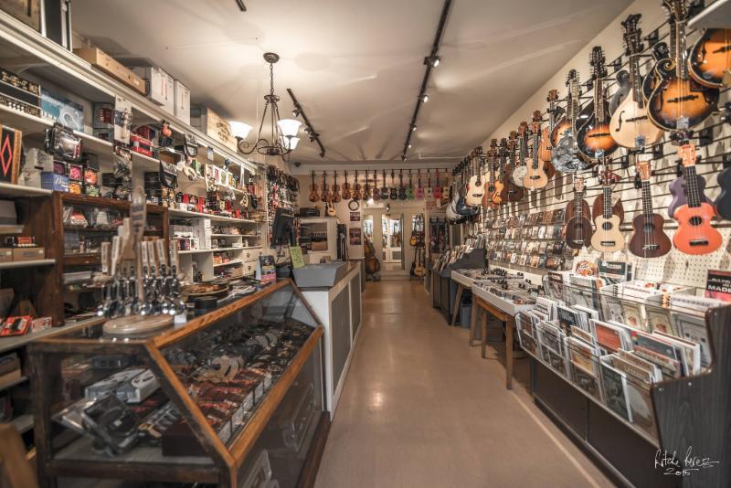 photo O'Brien's Music Store