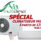 Air Multi Climat Inc - Entrepreneurs en climatisation - 514-358-3044