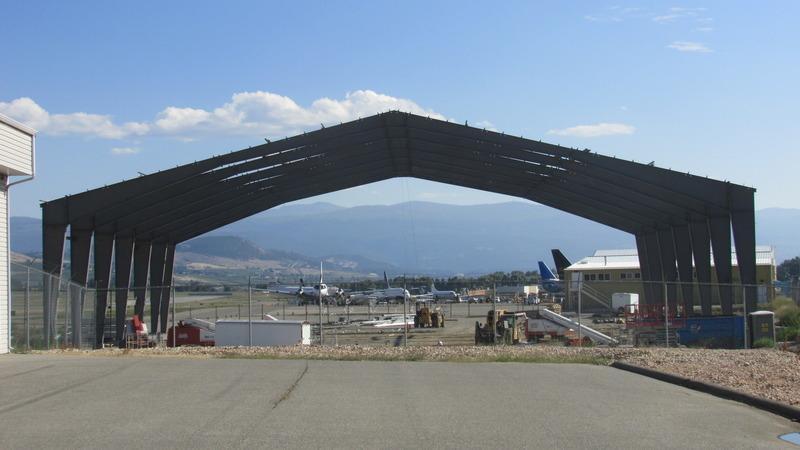 airport hangar construction