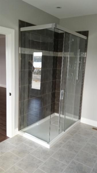 Custom Built Shower