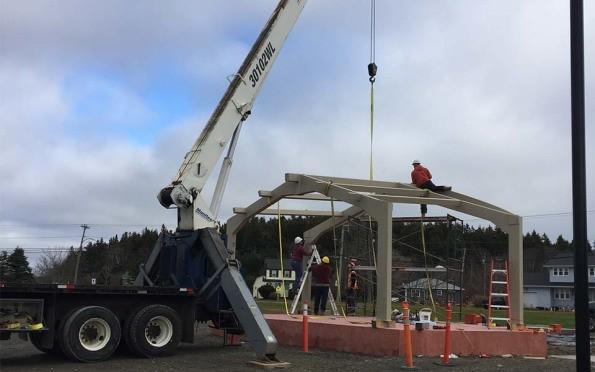 Telescopic Cranes Vancouver : Future nets crane service pennfield nb armstrong