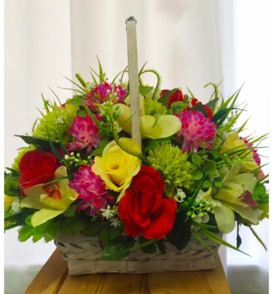 Selection of artificial bouquets