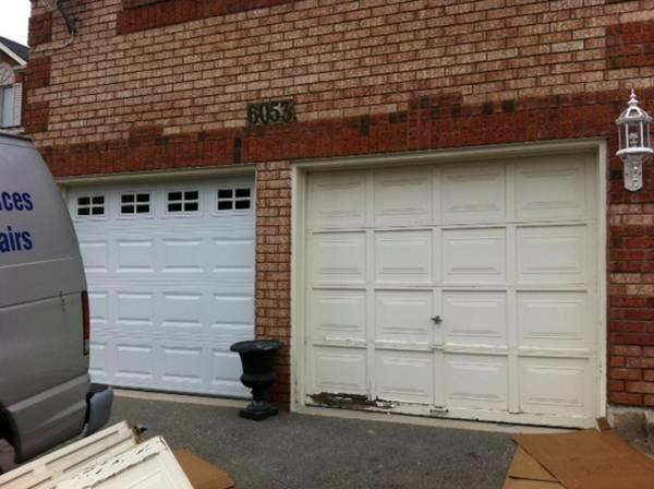 Garage door expert mississauga on emerson lane