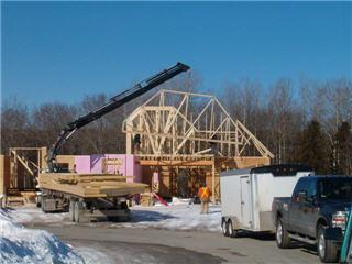 Ontario truss wall opening hours 732 ashley st rr 1 for Pre manufactured roof trusses