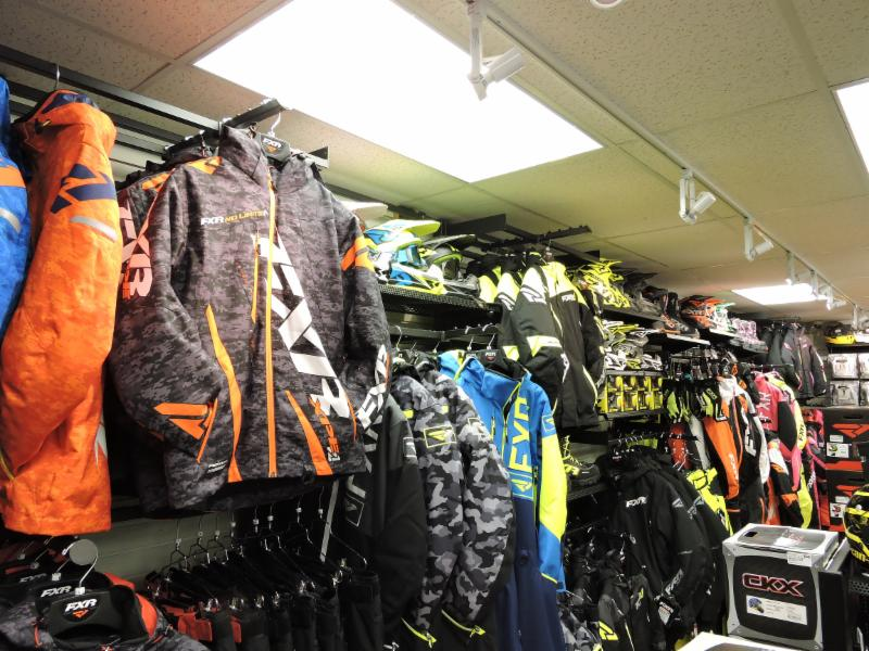 vente vêtements motoneige ski-doo, fxr, 509