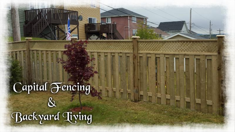 Capital Fencing Amp Backyard Living Inc Conception Bay