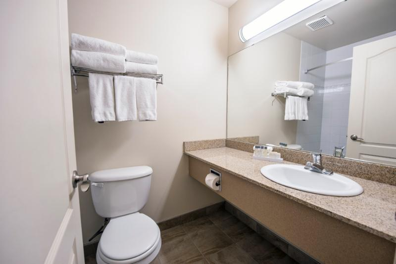 Upgraded and renovated bathrooms