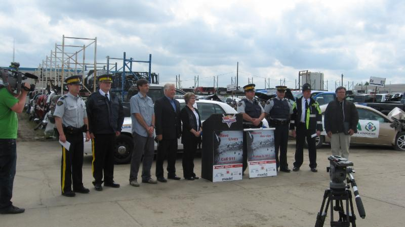 MADD event organized at Allwest Auto Parts