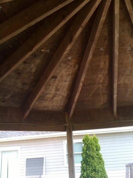 Patio, Gate, Gazebo, and outdoor structure cleaning