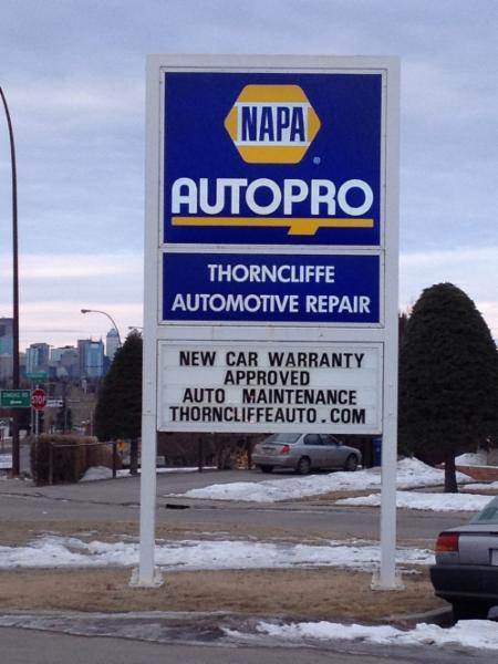 photo Thorncliffe Automotive