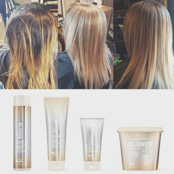 Nouveau produit pour les blonds et poudre décolorante qui a des agents hydratant qui  traite le cheveux tout en décolorant !