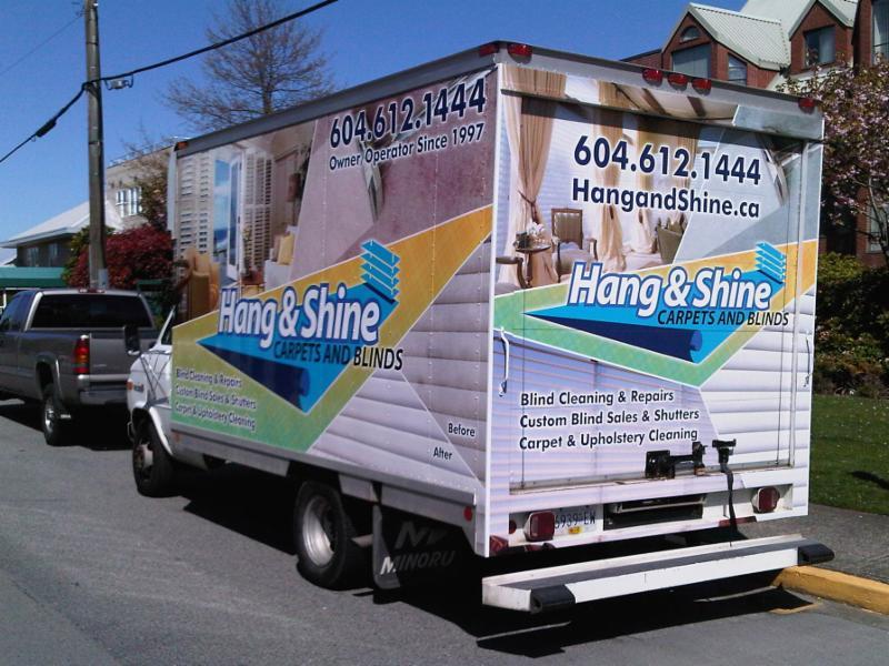 hang shine carpets and blinds surrey bc 1037 164 st canpages. Black Bedroom Furniture Sets. Home Design Ideas