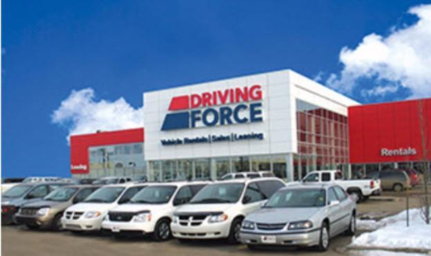 Driving Force Car Rental Leduc Alberta