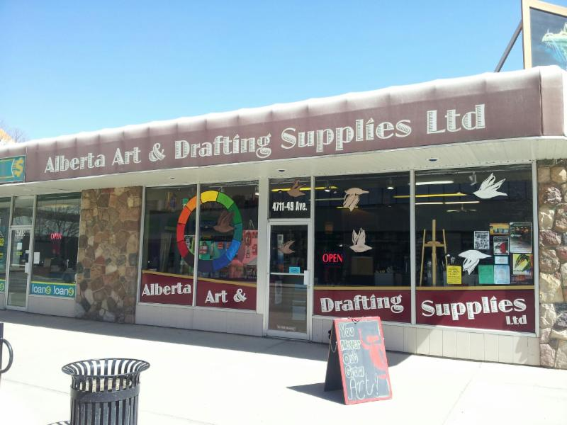 Since 1993, we have provided Central Alberta with a complete array of art supplies. Our goal is to give the best product support and inspiration to the art and drafting community, from beginner to professional.