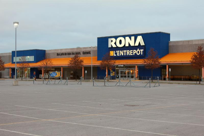Rona l 39 entrep t gatineau qc 777 boul de la cit for Entrepot de meuble a montreal