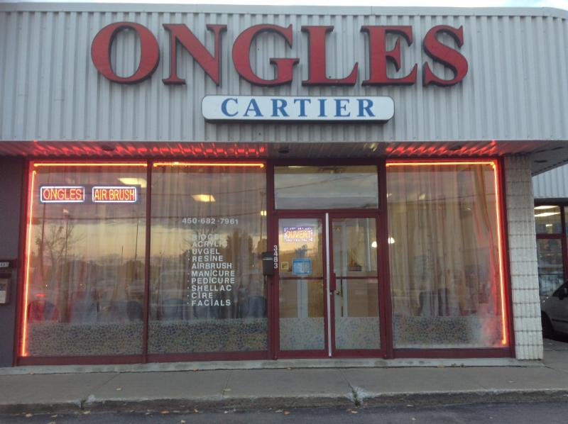 Ongles cartier spa opening hours 3483 boul cartier o for Ongles salon