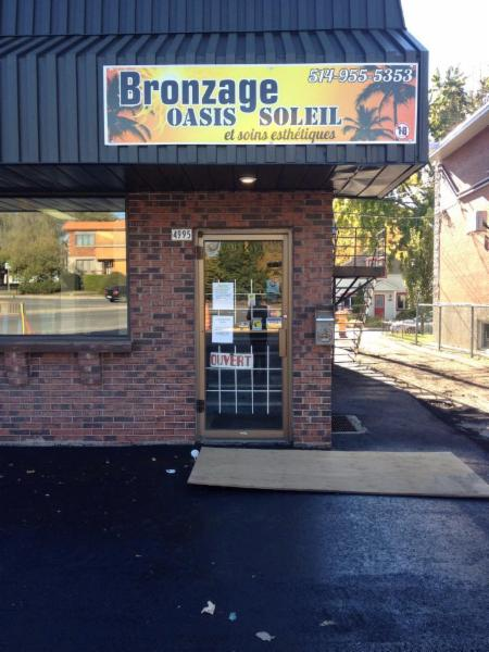 Bronzage oasis soleil opening hours 4995 boul l ger for Salon de bronzage