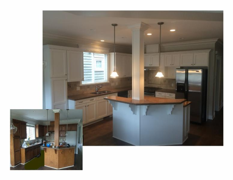 Kitchen Cabinet Painting Victoria Bc