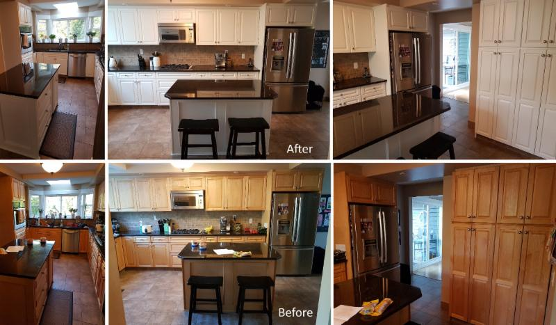Spray Paint Kitchen Cabinets In Winnipeg
